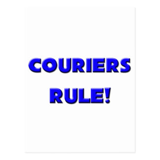 Couriers Rule! Postcard