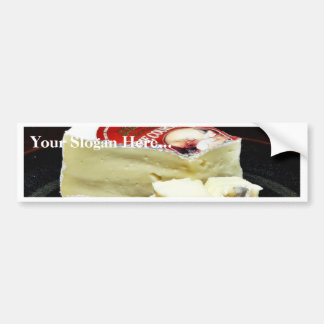 Couronne Brie Cheese Bumper Stickers