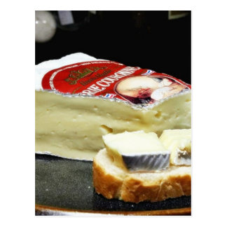 Couronne Brie Cheese Postcard