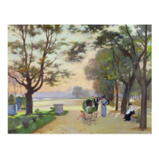 Cours-la-Reine Paris Post Card
