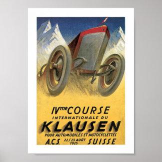 Course Internationale du Klaussen Poster