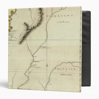 Course Of The River Mississipi 3 Ring Binder