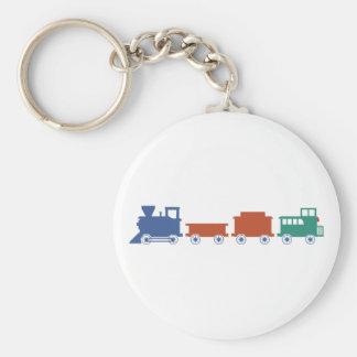 Course railway train railway key chains