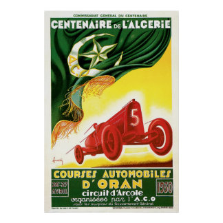 Courses Automobiles D'Oran Poster