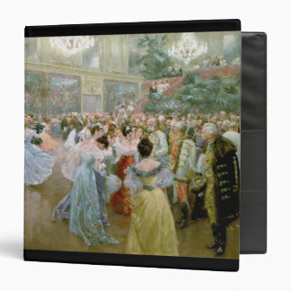 Court Ball at the Hofburg, 1900 Binder