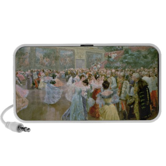 Court Ball at the Hofburg, 1900 Portable Speaker