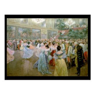 Court Ball at the Hofburg, 1900 Postcard