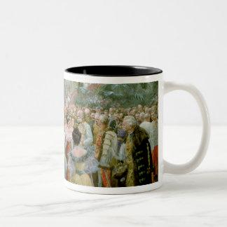 Court Ball at the Hofburg, 1900 Two-Tone Coffee Mug