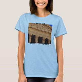 court bulding saying equal justice under the la... T-Shirt