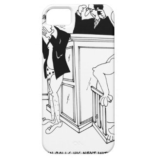 Court Cartoon 5490 iPhone SE/5/5s Case