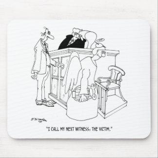 Court Cartoon 5621 Mouse Pad
