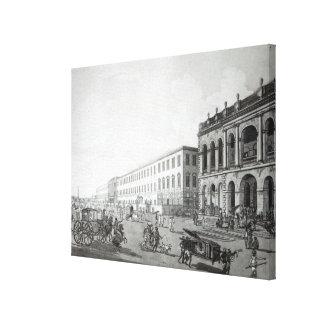 Court del alcalde y el edificio de los escritores impresiones en lienzo estiradas