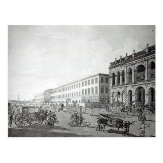 Court del alcalde y el edificio de los escritores postales