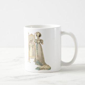 Court Dress 1822 Classic White Coffee Mug