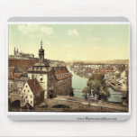 Court house, Bamberg, Bavaria, Germany vintage Pho Mouse Pads