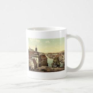 Court house, Bamberg, Bavaria, Germany vintage Pho Coffee Mugs