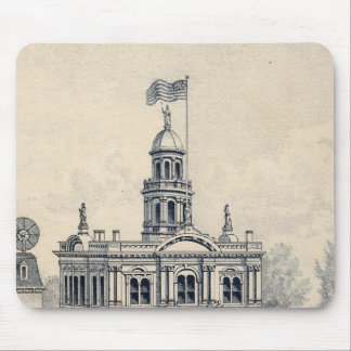 Court House, Fresno Mouse Pads