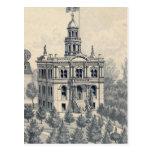 Court House, Fresno Postcard