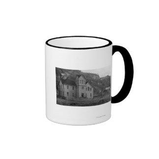 Court House in Skagway, Alaska Photograph Coffee Mugs