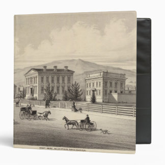 Court House, jail, offices 3 Ring Binder