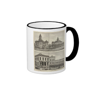 Court House, Kansas Coffee Mugs