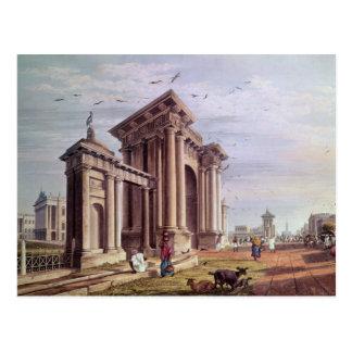 Court House Street, Calcutta Postcard