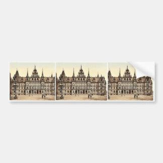 Court House, Wiesbaden, Hesse-Nassau, Germany clas Bumper Stickers