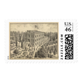 Court House Yolo County Stamp