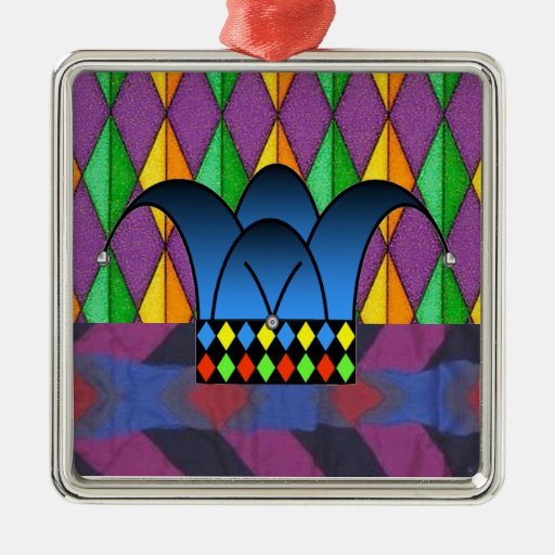 Court Jester2 Christmas Ornaments