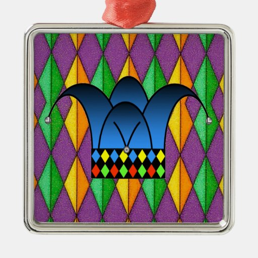 Court Jester Christmas Tree Ornaments