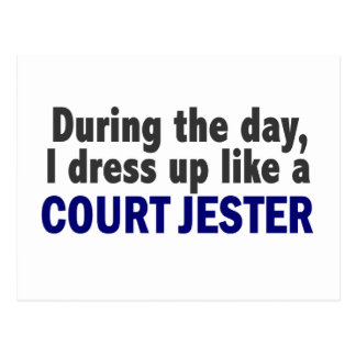 Court Jester During The Day Postcards