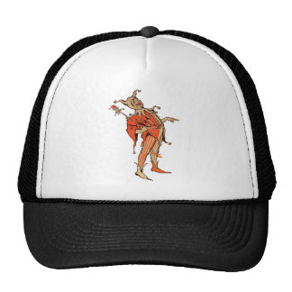 Court Jester Illustration Trucker Hat