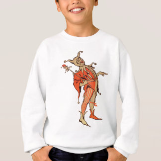Court Jester Illustration Sweatshirt
