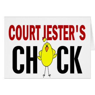 Court Jester's Chick Card