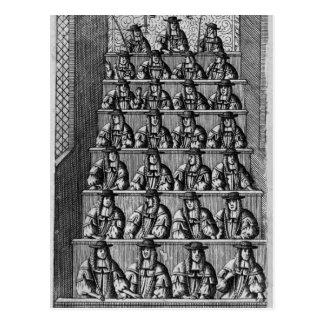 Court of Aldermen, c.1690 Postcard