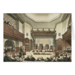 Court of Common Pleas, Westminster Hall Greeting Card
