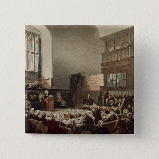 Court of Exchequer, Westminster Hall Button