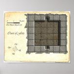 Court of Fists Battle Map V4 Print
