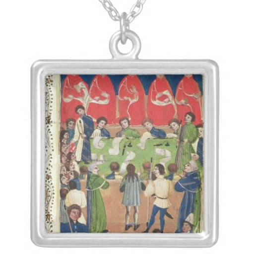 Court of King's Bench, Westminster Hall, c.1460 Square Pendant Necklace