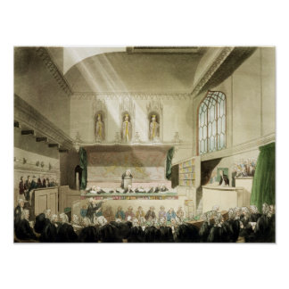 Court of King's Bench, Westminster Hall Poster