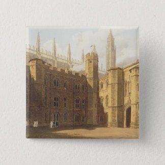 Court of King's College, Cambridge, from 'The Hist Button