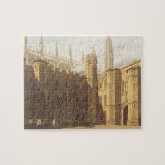 Court of King's College, Cambridge, from 'The Hist Jigsaw Puzzle