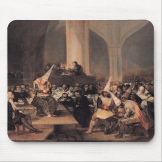 Court of the Inquisition Mouse Pad