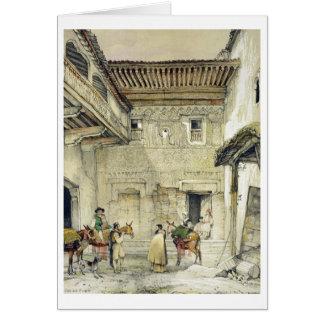 Court of the Mosque (Patio de la Mesquita), from ' Card