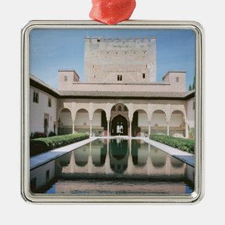 Court of the Myrtles, begun in 1333 Metal Ornament
