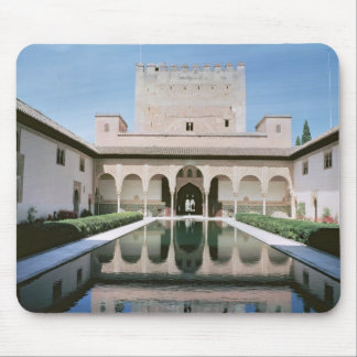 Court of the Myrtles, begun in 1333 Mouse Pad