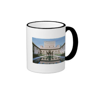 Court of the Myrtles begun in 1333 Coffee Mug
