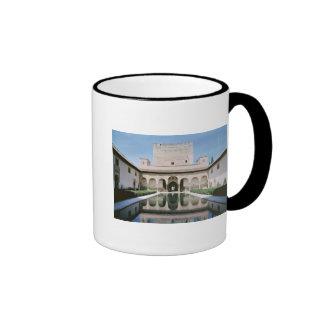 Court of the Myrtles, begun in 1333 Ringer Mug