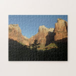 Court of the Patriarchs at Zion National Park Jigsaw Puzzle