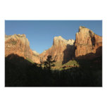 Court of the Patriarchs at Zion National Park Photo Print